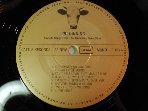 LOU DINNING 1954 Live Studio for Tennessee Ernie Ford Radio Show full LP