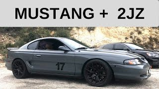 Ca Legal 2jz Mustang Gt - One Take
