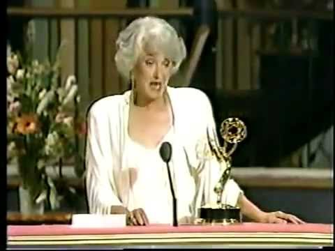 Bea Arthur @ The Emmy Awards 1988