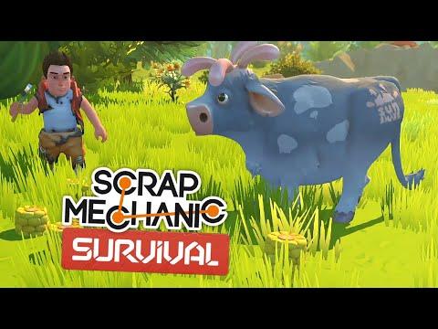 Скрап Механик Выживание. Часть 1 | Вместе веселей! (Scrap Mechanic Survival)