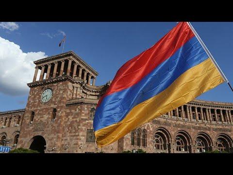 Ереван, Армения 2020. В день Праздника Армии.