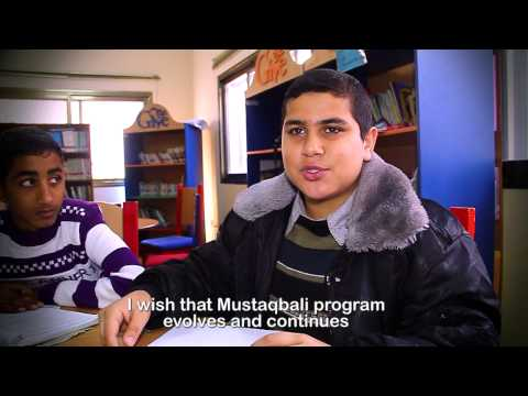 Raed Ayyad- Mustaqbali program- Palestine