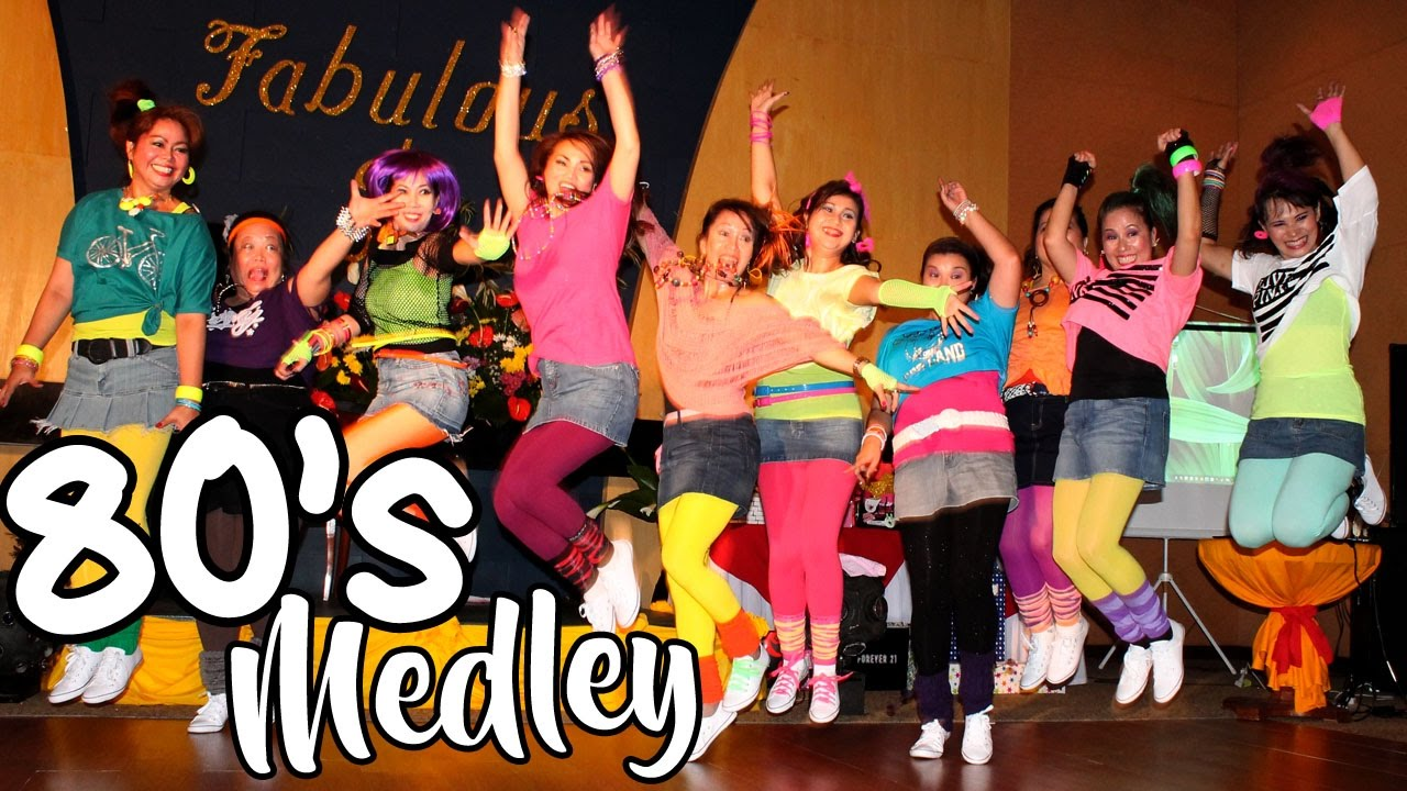 80 s dance medley philippines youtube