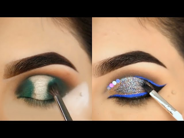 HOW TO: CUT CREASE EYESHADOW TUTORIAL | EYE MAKEUP COMPILATION