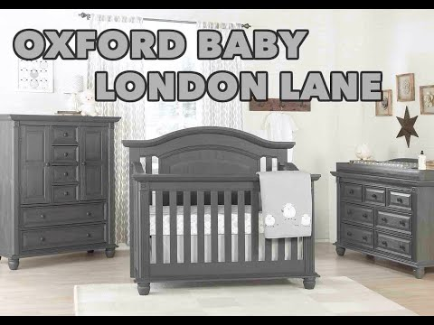 Oxford Baby London Lane Convertible Crib Collection - TreasureRooms.com