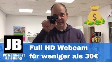 Full HD Webcam mit 1080p für unter 30€ im Test VS iPhone X die LOETAD Webcam