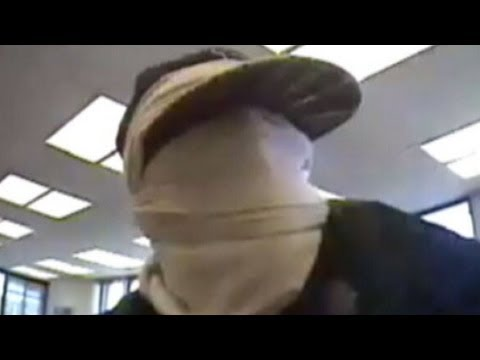 Washington State Bank Robbery Caught on Tape