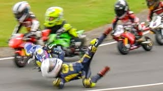 vuclip Crash! Amazing Minibikes and Karts Compilation