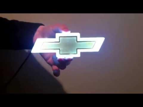 4D Светящийся неоновый шильдик! Cruze.