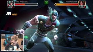 Thor (Ragnarok) Rank Up & Gameplay - First Impressions -Marvel Contest Of Champions