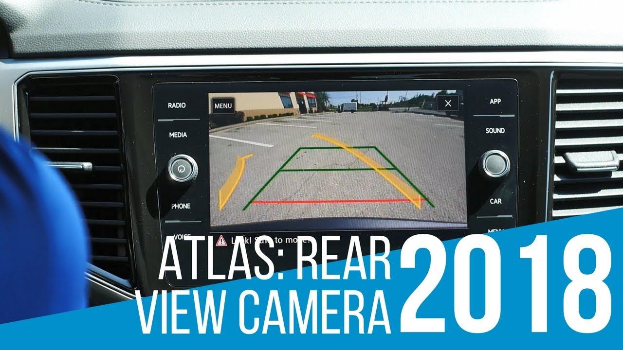 2018 Volkswagen Atlas Backup Camera Demo Youtube