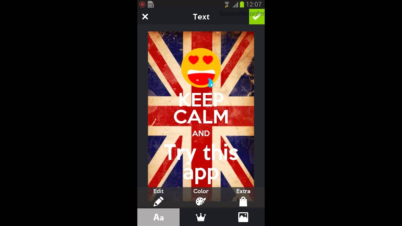 keep calm generator android youtube