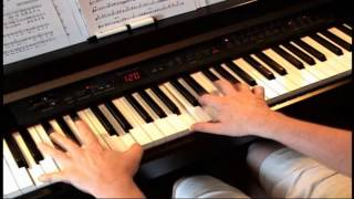 Get Me To The Church On Time - Piano
