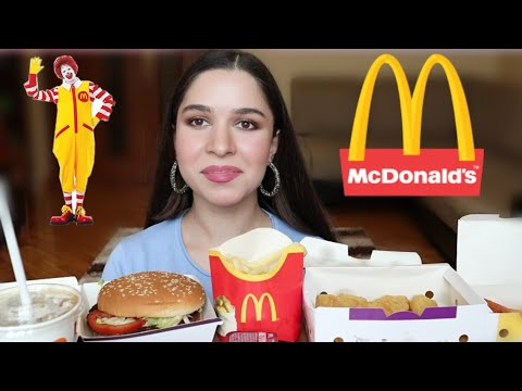 MUKBANG MC DONALD'S Ask Fatima