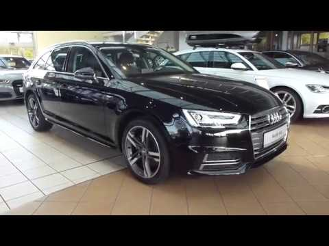2018 audi a4 avant s line 2 0 tfsi 252 hp exterior interior playlist youtube. Black Bedroom Furniture Sets. Home Design Ideas