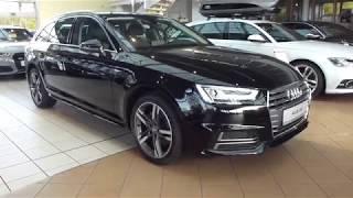 2018 Audi A4 Avant S-Line 2.0 TFSI 252 Hp Exterior & Interior * Playlist