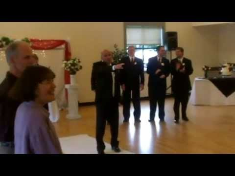 Thumbnail: Bruno Mars song Marry Me SURPRISE ENTRANCE!! Wedding Ceremony Entrance lip synced by Groom.