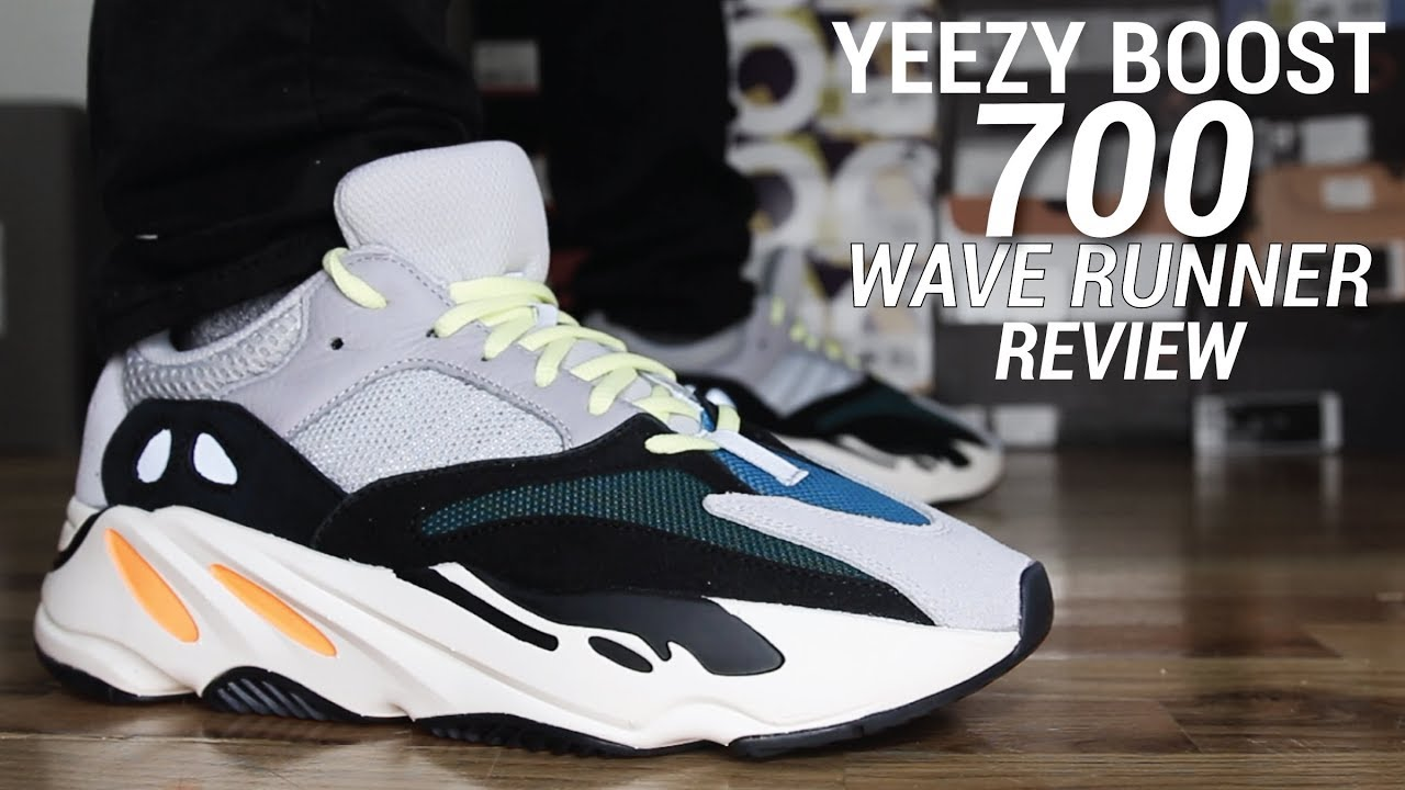 4a5bdc5e61d ADIDAS YEEZY BOOST 700 WAVE RUNNER REVIEW - YouTube