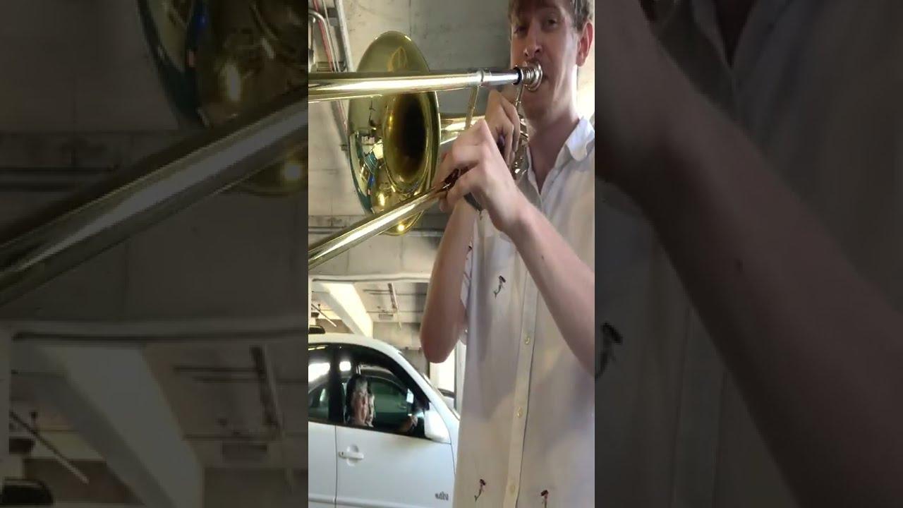 """It's Been a Long, Long Time"" but Trombone"