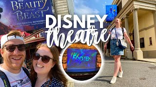 DISNEY THEATRE VLOG! 🎭 Beauty & The Beast & Frozen The Musical London West End • Musical Tour Review
