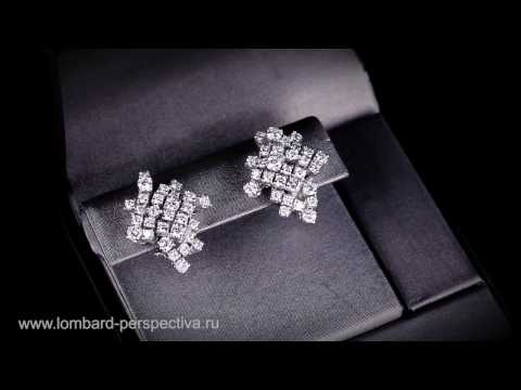 Серьги с бриллиантами DAMIANI
