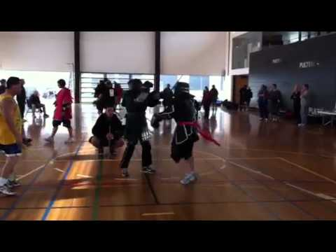 Tamiko stick fighting fight 2