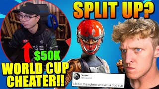 Tfue & Scoped DONE? $50,000 World Cup Cheaters Are BACK! Clix Facetimed Scoped & got TOXIC mid Game!