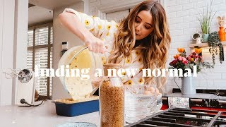 "Finding A New ""Normal"" & Baking Banana Bread"