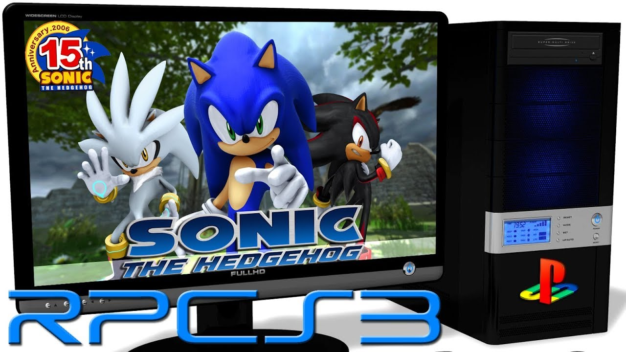 RPCS3 0 0 4 PS3 Emulator - Sonic the Hedgehog 2006 (Ingame) LLVM Vulkan  (Auto LLE) #1