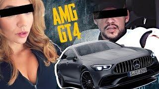 #1 AMG GT 4 TÜRER TEST MIT PALINA ROJINSKI | GEILNES TEST | SLAVIK JUNGE