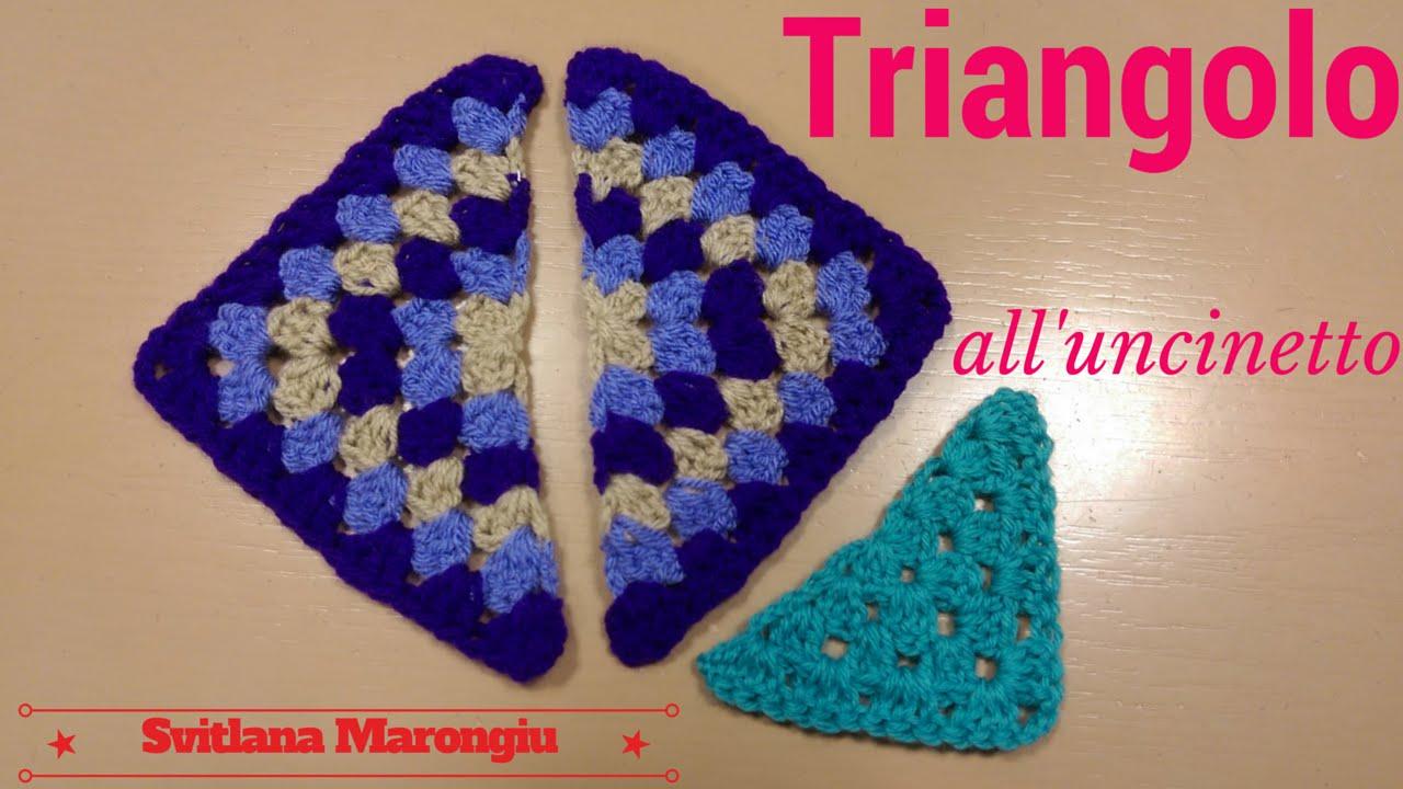 Triangolo Della Nonna Alluncinetto Tutorial Triangolo All