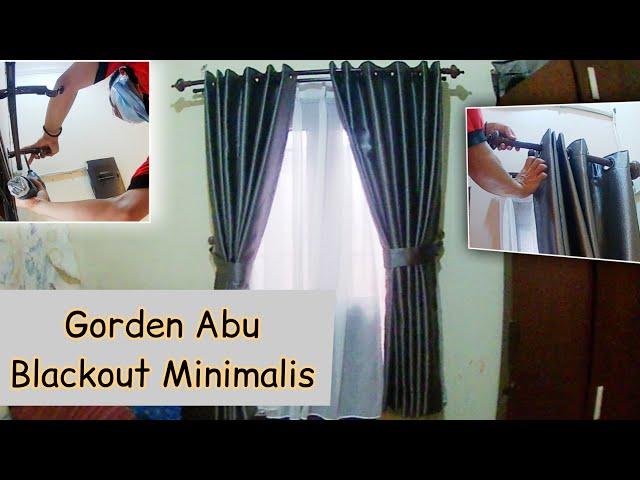 Pasang Gorden Smokering Abu - abu | PesanGorden.id 0823 1098 9451