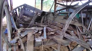 Horse Drawn Wagons Found In Barn