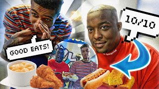 We Went To BLUEFACE NEW Restaurant & Did A Mukbang With Him | BLUEFACE SPECIAL MUKBANG !!!