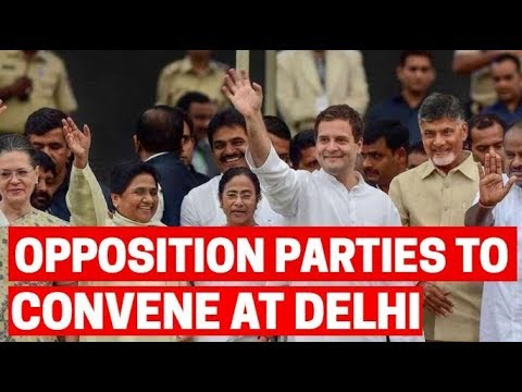 Opposition parties to convene at the Constitution Club in Delhi today