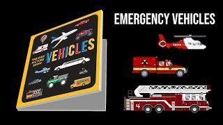 Vehicles Book Trailer - Cars, Trucks, Emergency Vehicles, Trains and More! - The Kids' Picture Show