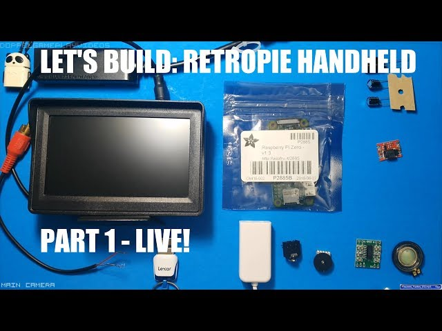 LETS BUILD: Handheld Game Console! PART 1:Initial Setup, Inputs, Programming [Timestamps]