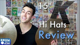 "15"" K Zildjian Hi Hats - Gear Review | Drum Beats Online"