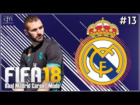 FIFA 18 Real Madrid Career Mode: Persaingan Sehat Cristiano & Benzema #13 (Bahasa Indonesia)