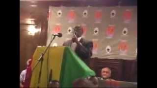 Discours de Dr Bangoura New York Par Aminata.com