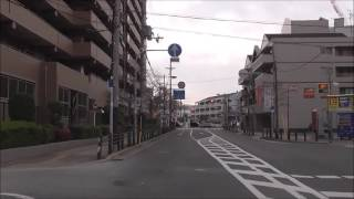2016年11月30日(水)に走行した、大阪府 堺市にある、労災病院...