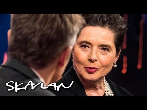 Isabella Rossellini got fired for looking «too old» at 42: – It was bad | SVT/NRK/Skavlan