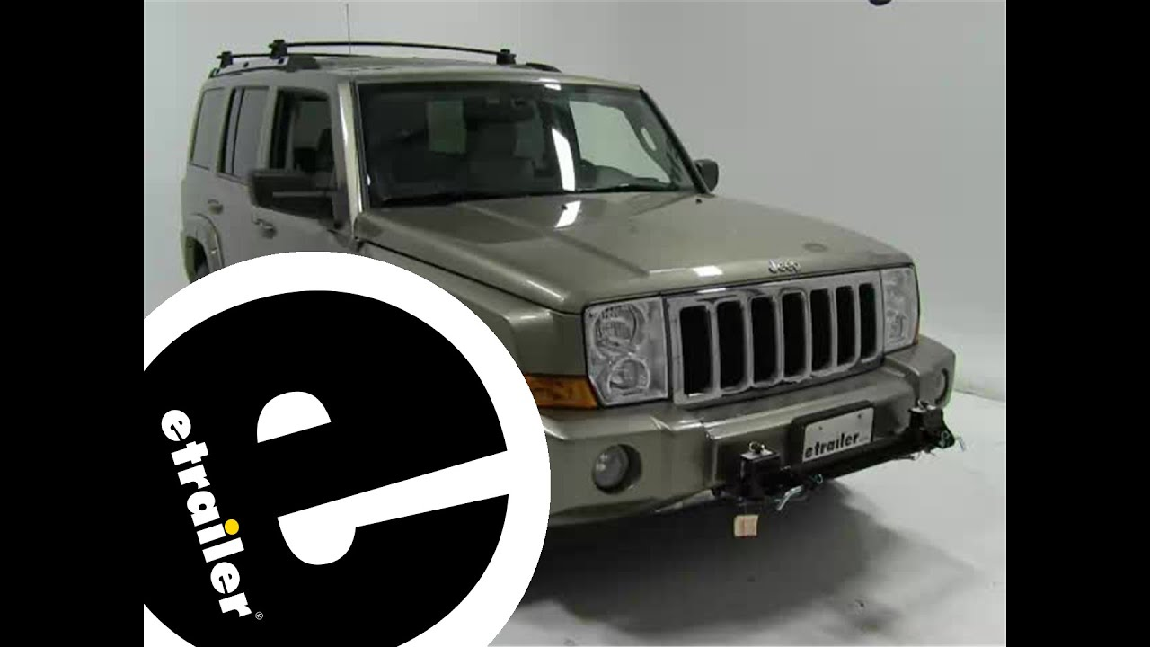 roadmaster tow bar wiring kit installation 2006 jeep commander rh youtube com