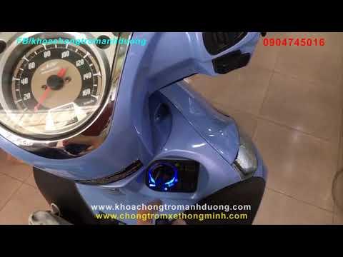 Cực Nguy Hiểm ! Mất Xe Vì Khóa Thông Minh Smart Key Honda SH Mode, SH 125i, SH 150i Ko Có Chống Cướp