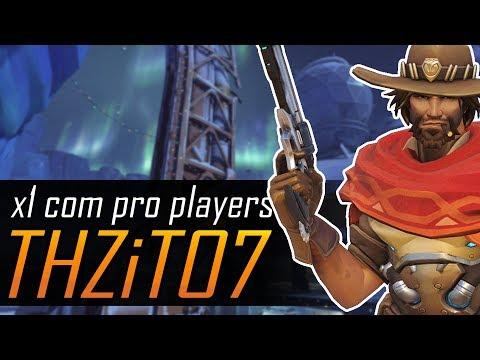 X1 COM PRO PLAYERS #06 - THZiTO7, o responsável por hoje eu jogar de McCree!