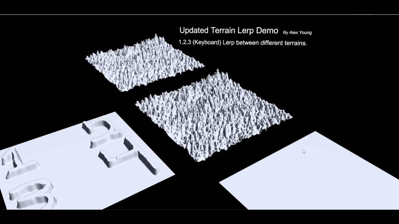 [Updated] Lerping Terrain Data in Unity