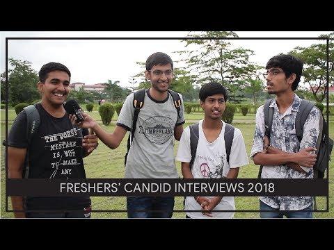 IIT Guwahati Freshers' Candid Interviews 2018