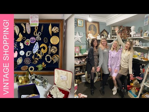 Full Day Vintage & Charity Shopping! | LIFESTYLE | Louise Pentland