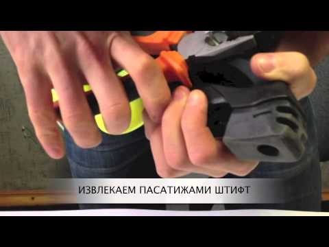 Как снять тормоз на роликах Rollerblade