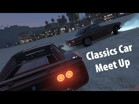Classics Cars Meet Up - Cinematic | GTA V Online